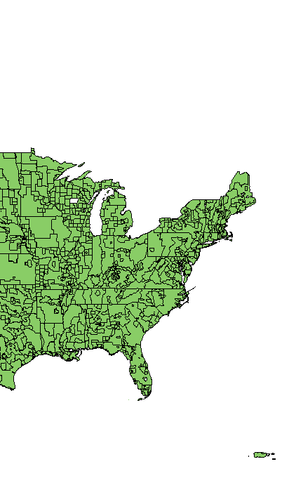 United States Interagency Elevation Inventory - Elevation-map-us-states