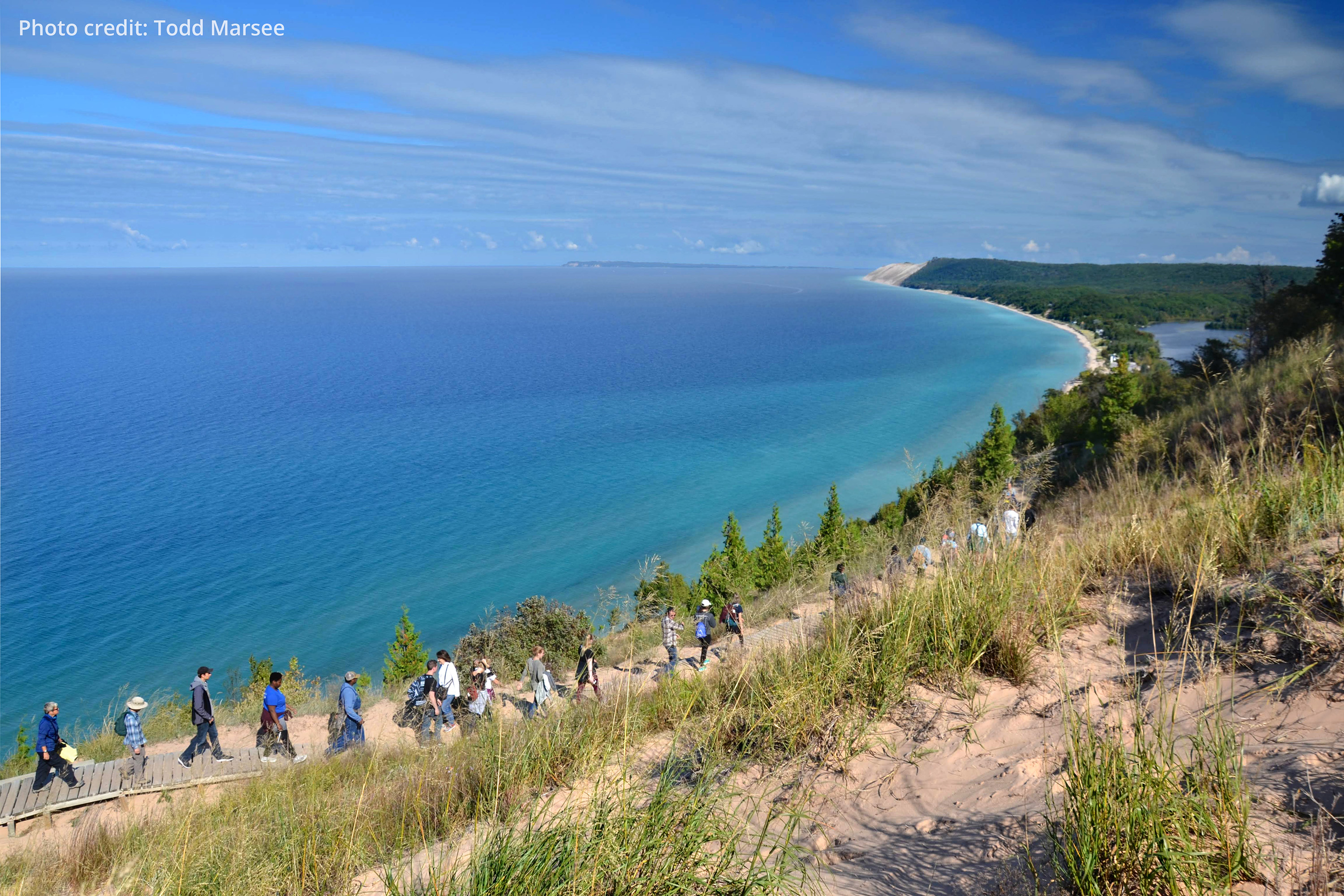 Sleeping Bear National Lakeshore hike