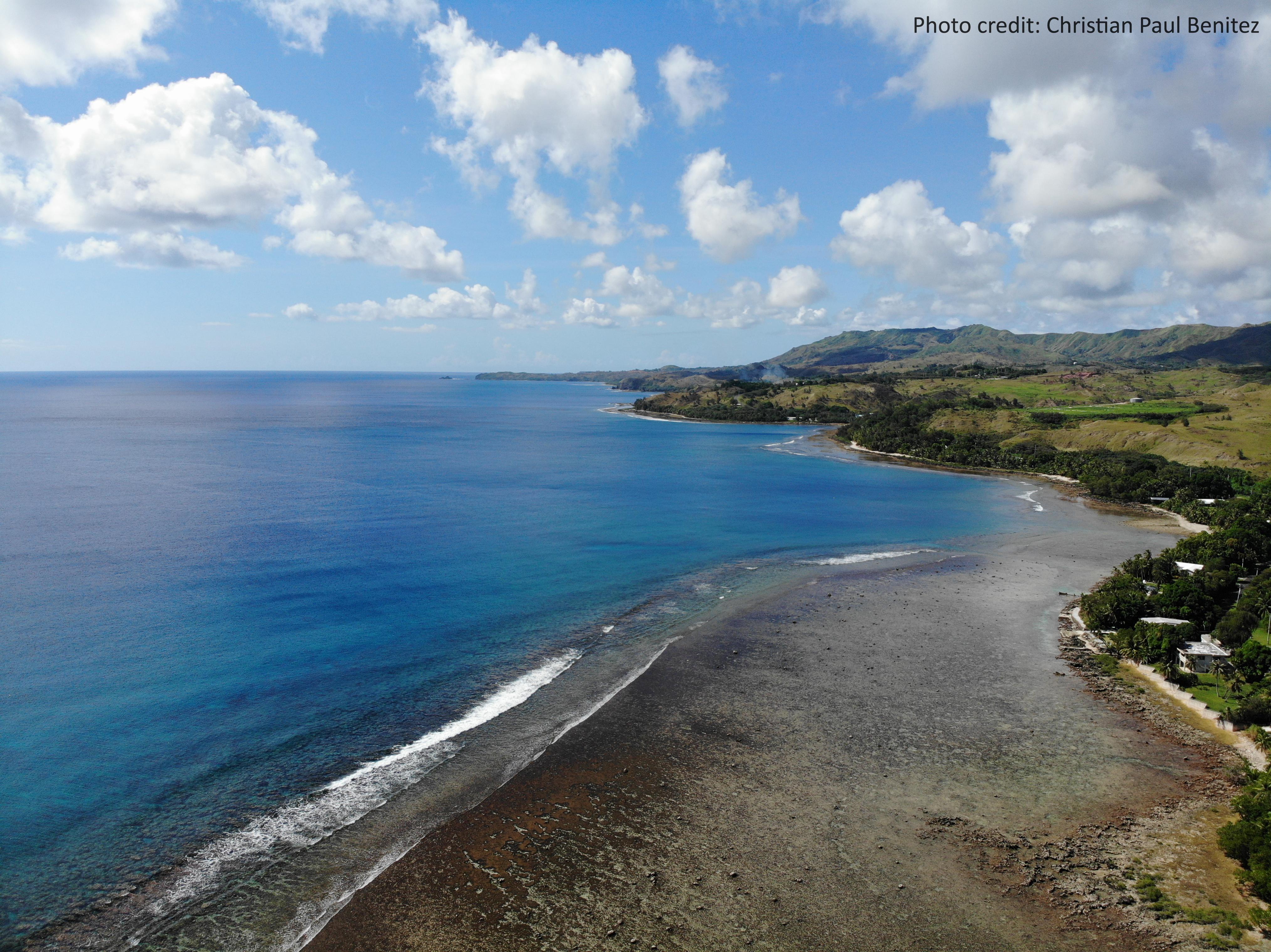 Merizo Village in southern Guam
