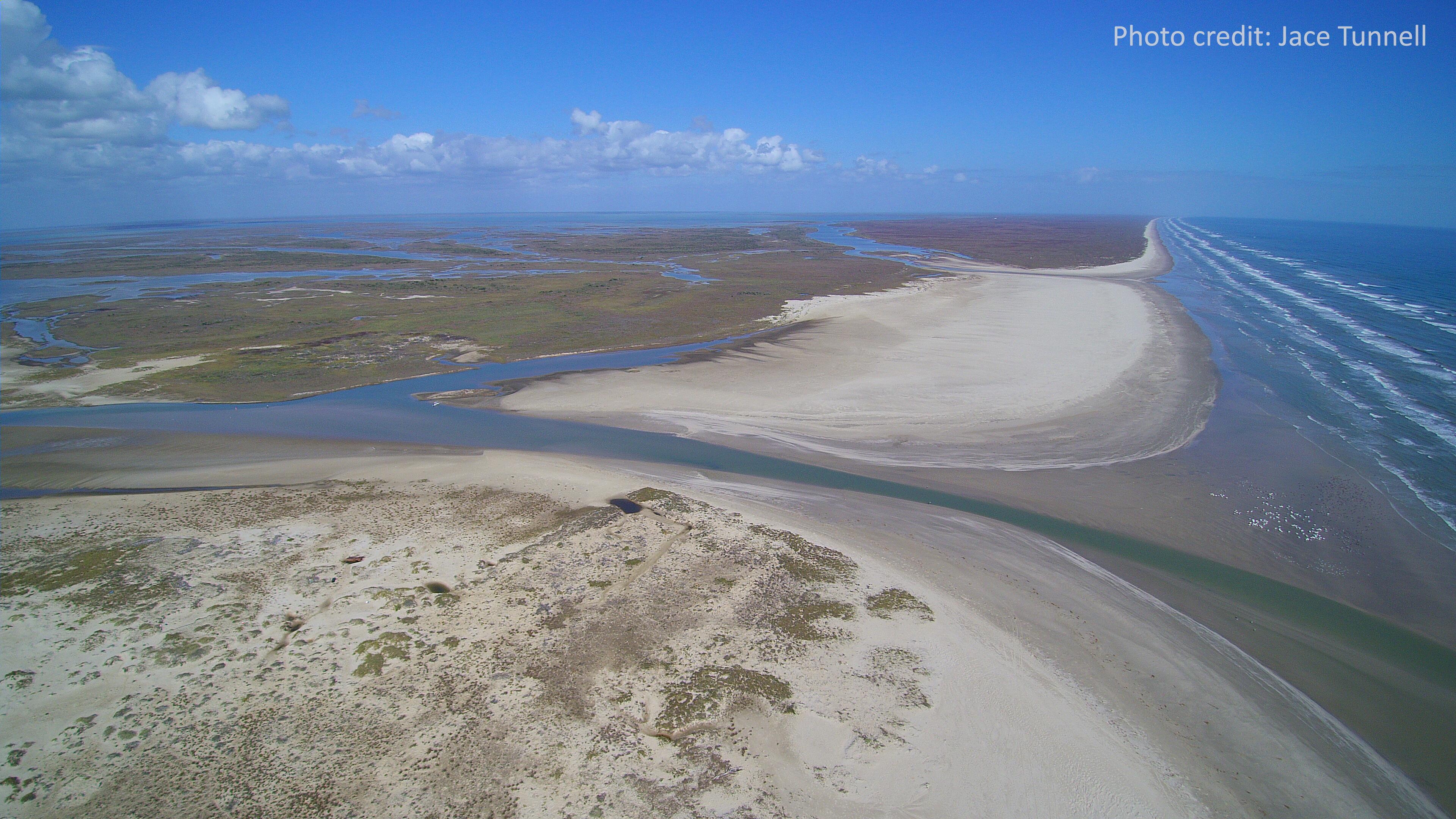 Estuary at Mission-Aransas National Estuarine Research Reserve, Texas