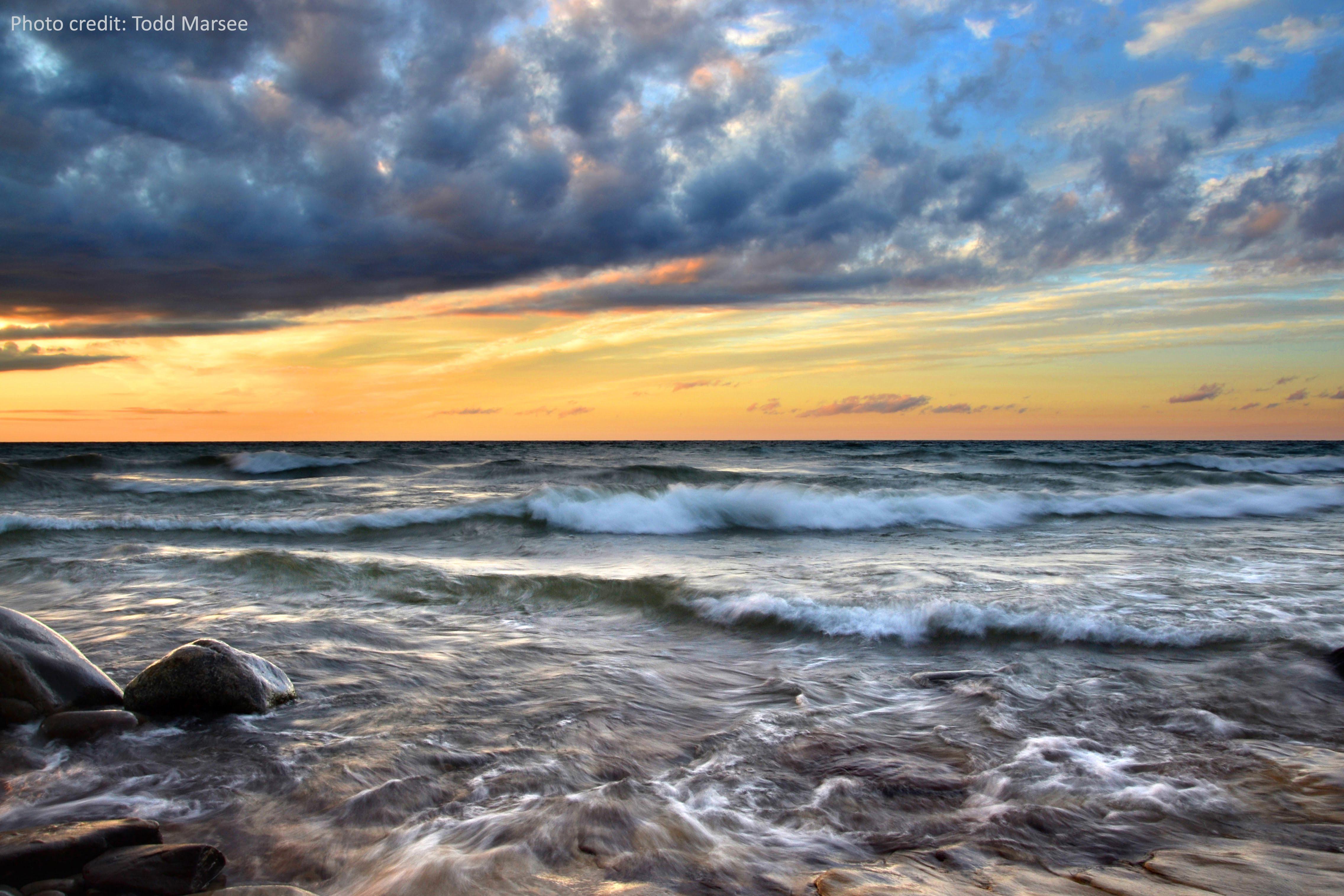 Pictured Rocks National Lakeshore, Lake Superior, Michigan