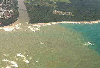 Land based water pollution at Culebra