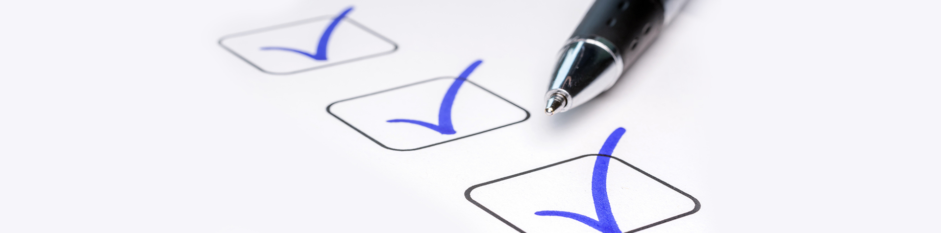 check boxes and symbolizing virtual meeting best practices
