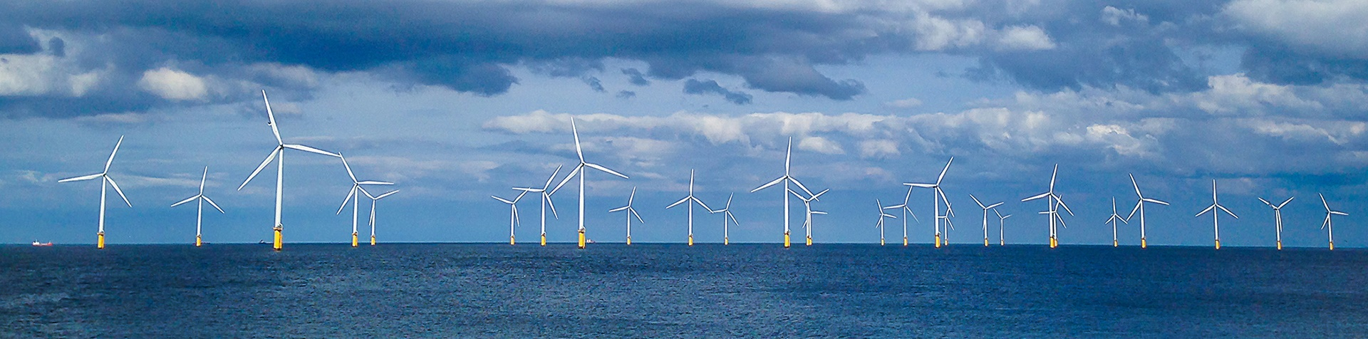 image of offshore wind turbines