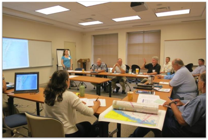 Workshop shows participants how to use Ocean Uses Participatory Mapping in the Mid-Atlantic Region