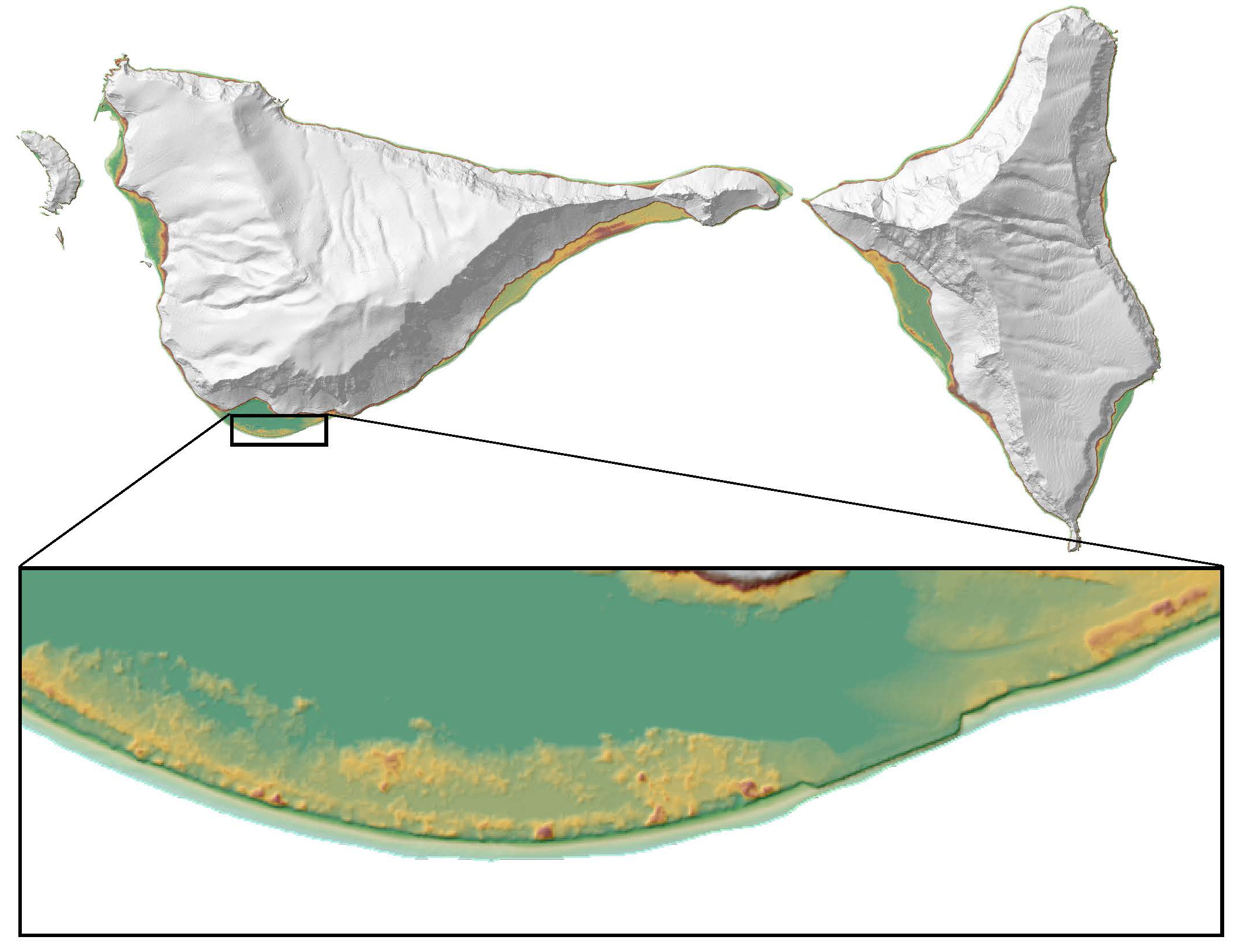High-resolution lidar data of Ofu and Olosega islands, American Samoa