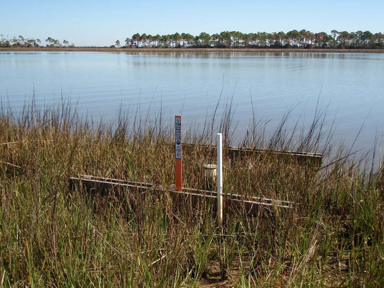 Sea Level Rise Inundation collected from in the marsh at Apalachicola National Estuarine Research Reserve using asurface elevation table