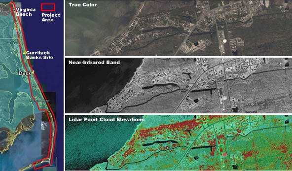 High-Resolution Orthoimagery aquired by NOAA's National Geodetic Survey