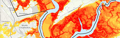 Charleston flood risks