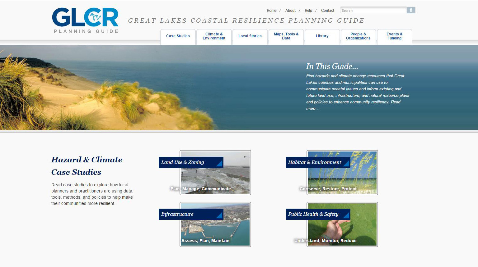 Great Lakes Coastal Resilience Planning Guide