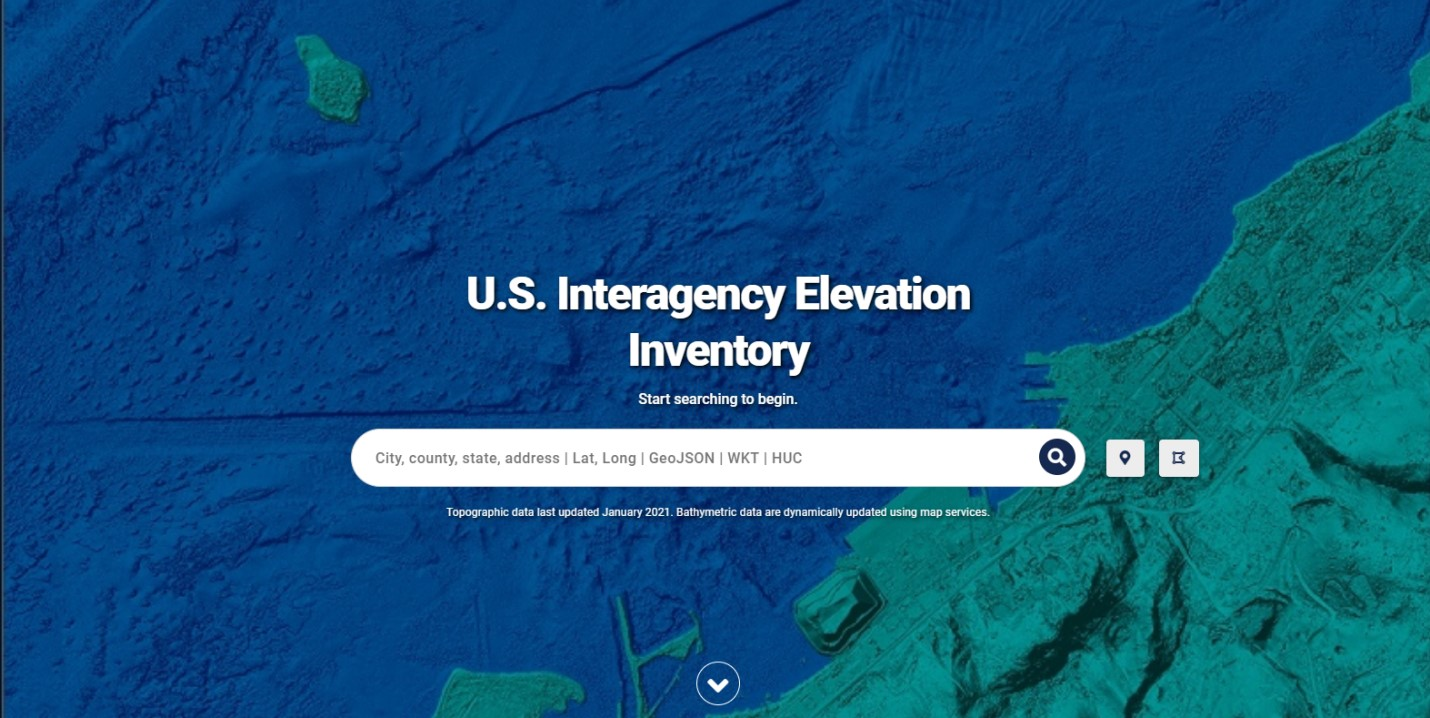 Inventoryjpg - Us map elevation