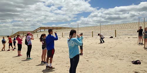 Cape Cod Students Learn about Coastal Hazards and Preparedness Article Thumbnail Image