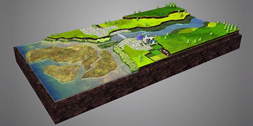 Animation Demonstrates the Role Estuaries Play in Water Filtration Article Thumbnail Image
