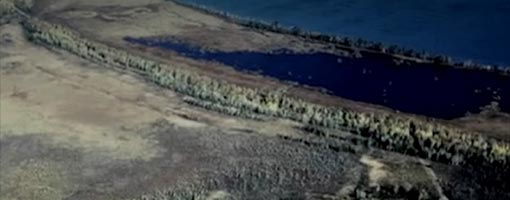 Screenshot of video Bark River Estuary