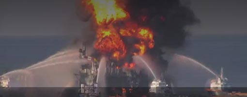 Screenshot of video Deepwater Horizon