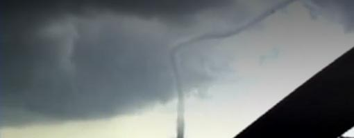 Screenshot of video Tornado Touchdown