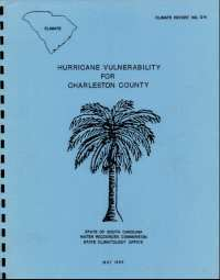 [graphic of cover of report-Hurricane Vulnerability for Charleston County]