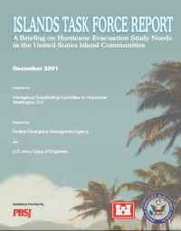 [graphic of cover of report-Islands Task Force Report]