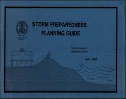 [graphic of cover of report-Storm Preparedness Planning Guide]