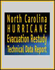 [graphic of cover of report-North Carolina Hurricane Evacuation Report]