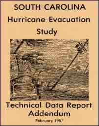 [graphic of cover of report-South Carolina Hurricane Evacuation Study: Technical Data Report Addendum]