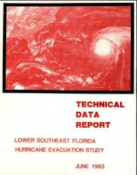 [graphic of cover of report-Technical Data Report for Lower Southeast Florida HES]