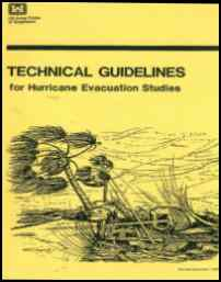[graphic of cover of report-Technical Guidelines for Hurricane Evacuation Studies]
