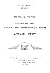 [graphic of cover of report-Chesapeake Bay, Potomac, and Rappahannock Rivers]