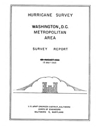 [graphic of cover of report-Hurricane Survey: Washington, D.C. Metropolitan Area (May]