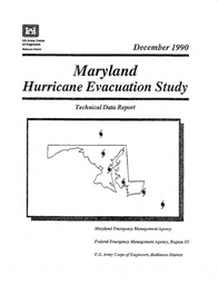 [graphic of cover of report-Maryland Hurricane Evacuation Study]