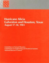 [graphic of cover of report-Hurricane Alicia: Galveston and Houston Texas-August 17-18, 1983]
