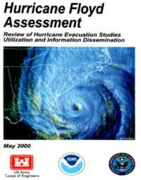 [graphic of cover of report-Hurricane Floyd Assessment: Review of Hurricane Evacuation Studies Utilization and Information Dissemination]
