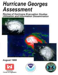 [graphic of cover of report-Hurricane Georges Assessment: Review of Hurricane Evacuation Studies Utilization and Information Dissemination]