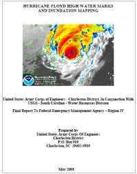 [graphic of cover of report-Hurricane Floyd High Water Marks Collection]