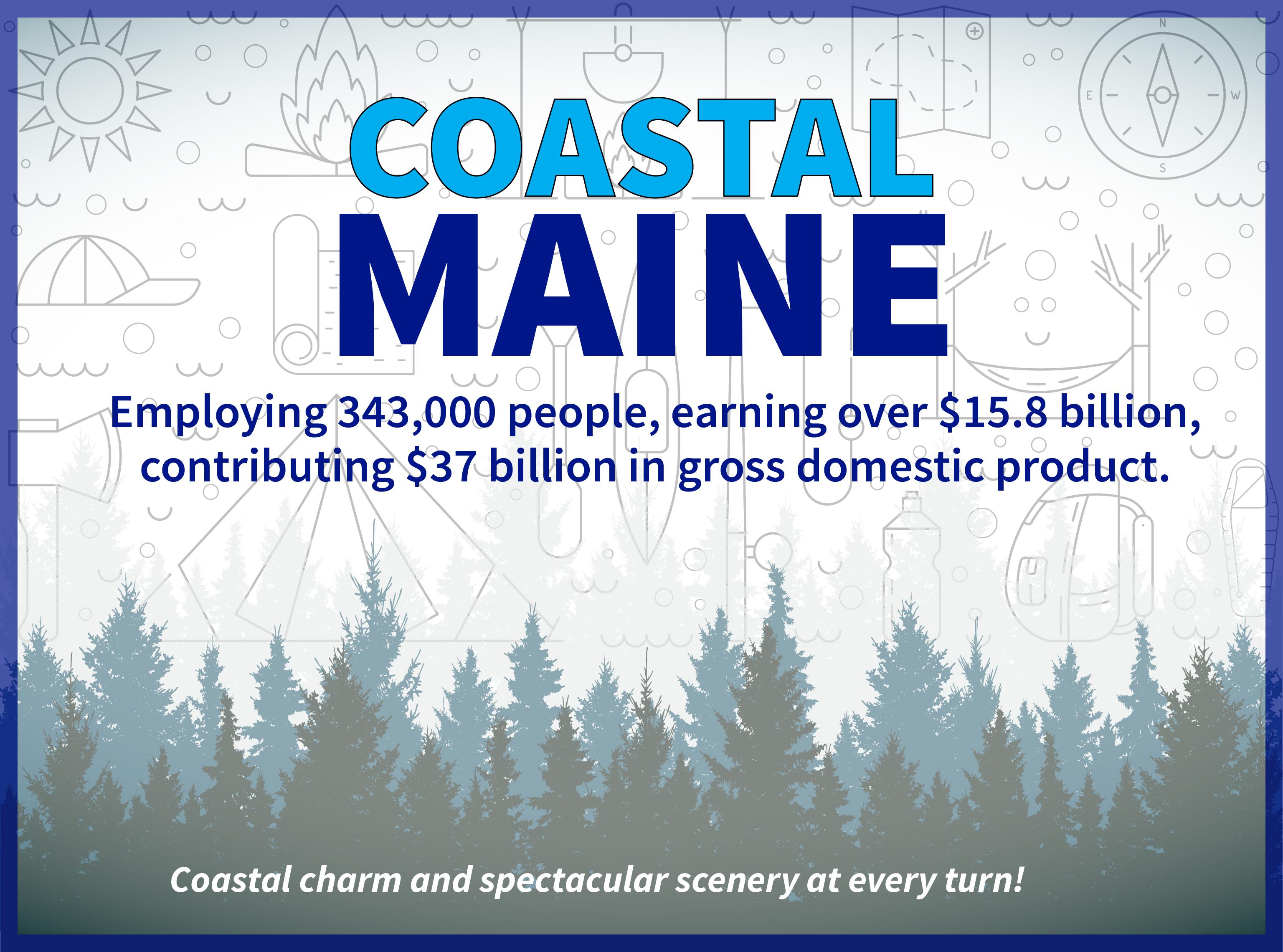 Maine graphic