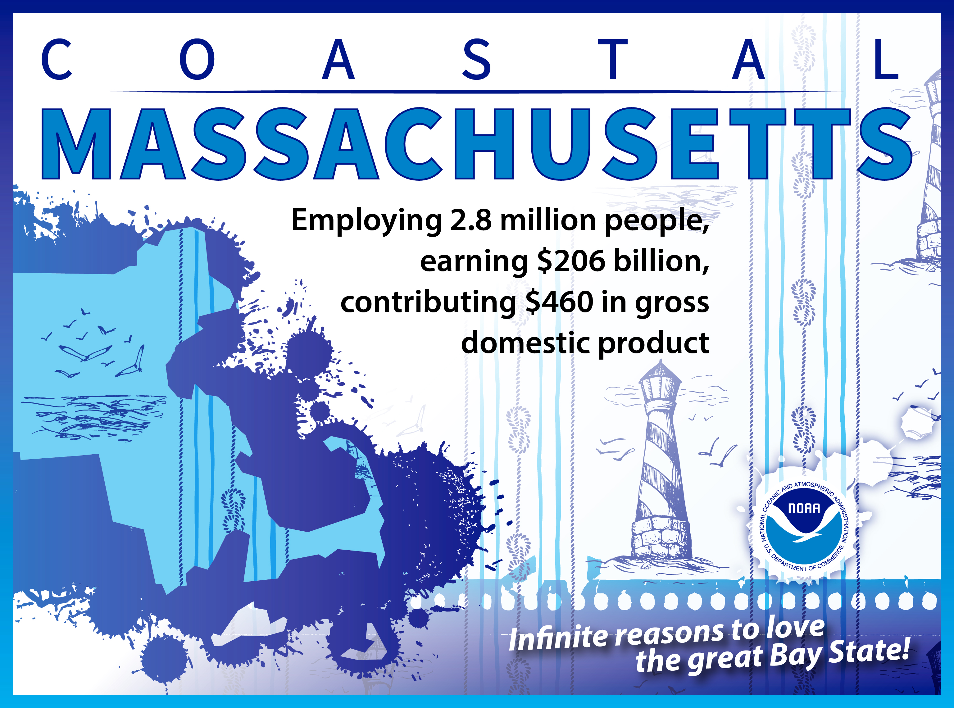 Massachusetts graphic