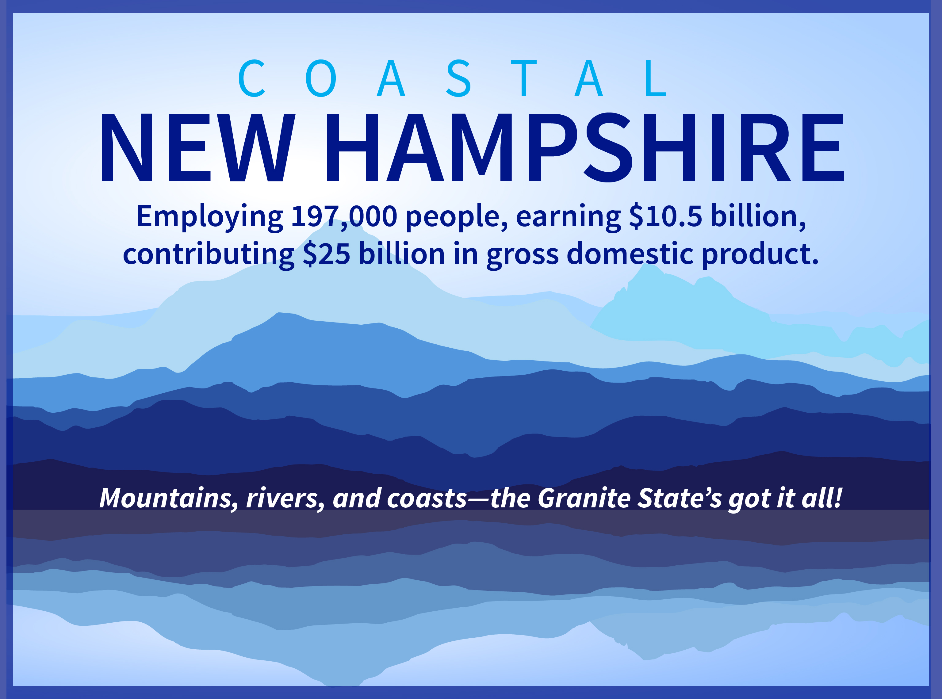 New Hampshire graphic
