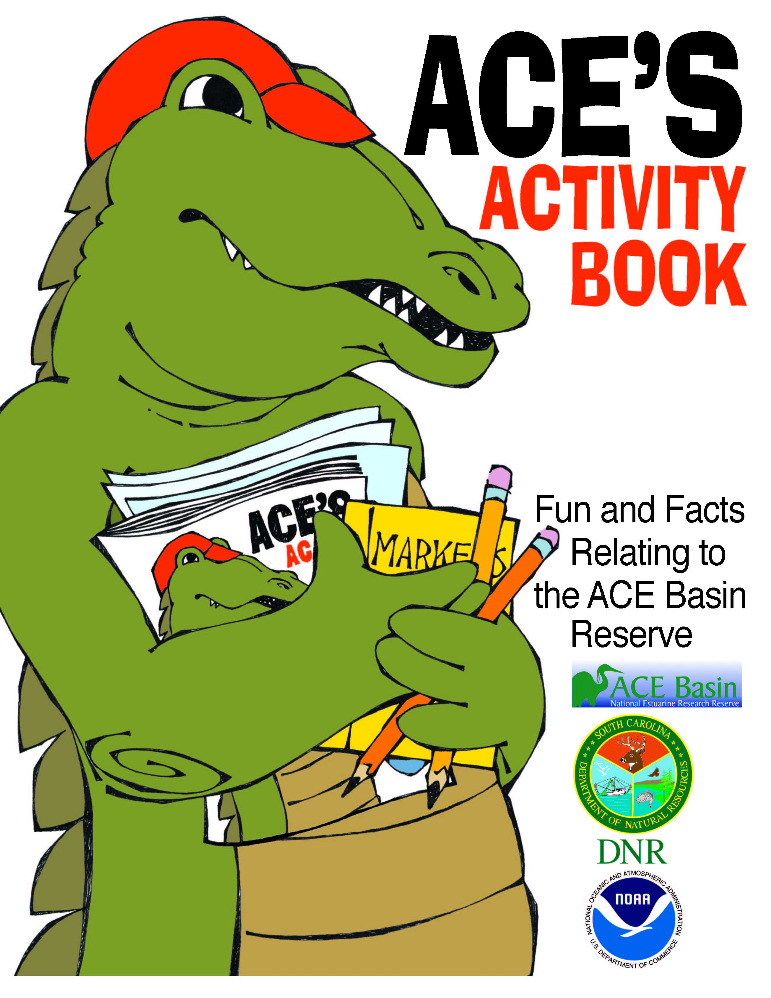 First page of activity book.