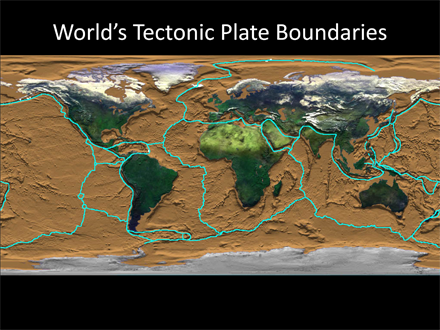 Worlds tectonic plate boundaries sea earth atmosphere worlds tectonic plate boundaries pdf download gumiabroncs Images