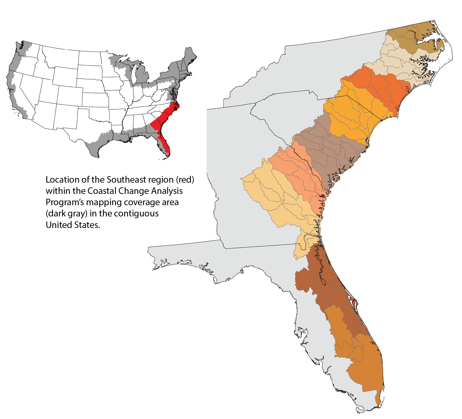Southeast Region Landcover Change